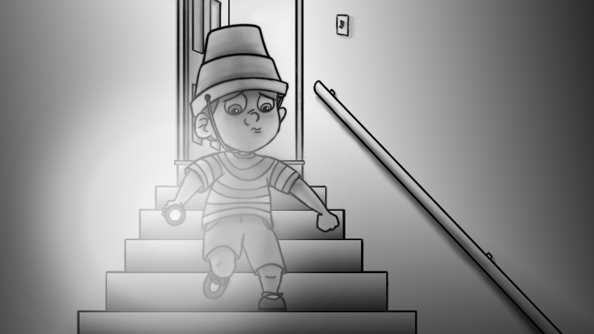 Storyboards – Something in the Basement